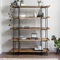 Lovely ideas for you to use the furniture in different ways small living room decor modern 09 Diy Bedroom Decor, Living Room Decor, Diy Home Decor, Industrial Furniture, Diy Furniture, Industrial Shelves, Metal Shelves, Handmade Furniture, Unique Furniture
