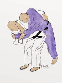 O-goshi: Full hip throw