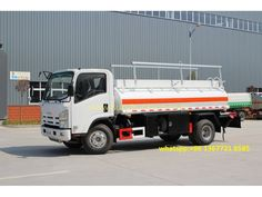 ISUZU 5 Cubic Meter Fuel Tank Truck for sale