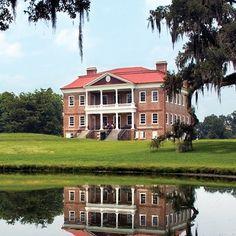 Drayton Hall - Plantations & Gardens Oldest plantation in America-Charleston