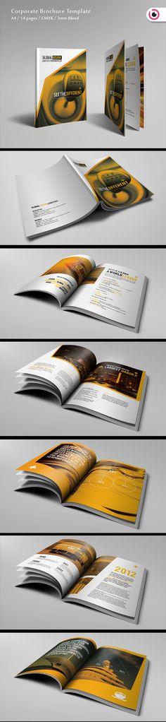 Logistic Brochure by Tony Huynh, via Behance