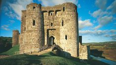 Kidwelly Castle. Peel back the centuries to the earliest earth-and-timber castle built by the Normans.