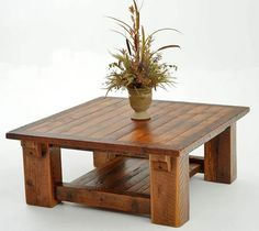 Barnwood table...wishing now we would have saved some of our old barn wood..love this!