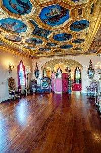 Spencer Pullen photographed the ball room of the Ringling's Ca d'Zan in Sarasota, Florida.