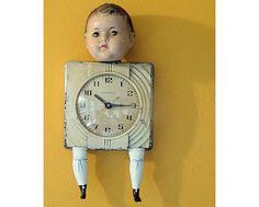 Repurposed old clock