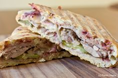 I've become a fan of the Cuban sandwich and will be observing National Turkey Lovers Month on June 16 with a Turkey Cuban Panini.