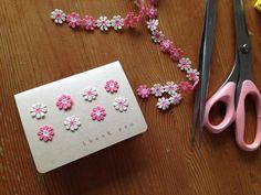 100円グッズで手作りカード | 簡単手作りカード Chocolate Card Factory