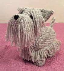 Resultado de imagen para crochet schnauzer pattern free