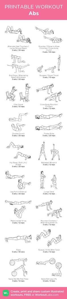 Abs – my custom workout created at http://WorkoutLabs.com • Click through to…