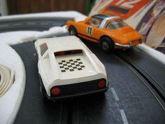 Märklin Sprint 1411 Porsche 911 targa MB C111 Komplettbahn Rennbahn mit OVP Slot