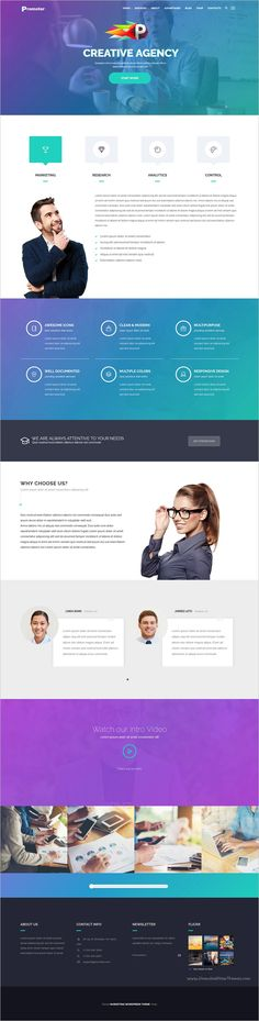 Promoter is a wonderful responsive #WordPress Theme suitable for #webdev any #company engaged in business and marketing websites download now➩ https://themeforest.net/item/promoter-wordpress-theme/18396748?ref=Datasata