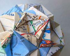 Ashbee Design: Map Origami