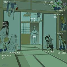 Embedded Touken Ranbu, Japanese Cartoon, Anime Eyes, Doujinshi, Sword, Anime Art, Funny Images, Fan Art, Manga