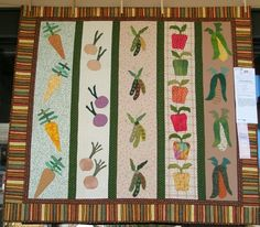 Hmm, I wonder if I need a quilt like this in my potting shed?