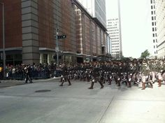 Texas Aggie Band in the Houston Rodeo Parade! 2-23-13 Whoop!!