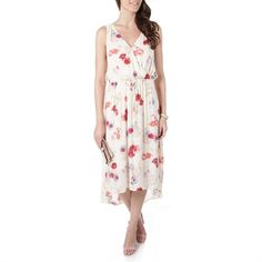 3915a3bd05db0 Lucky Brand Floral Printed High-Low Dress at Von Maur