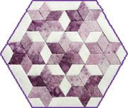 60 degree pointed diamond quilt - Google Search