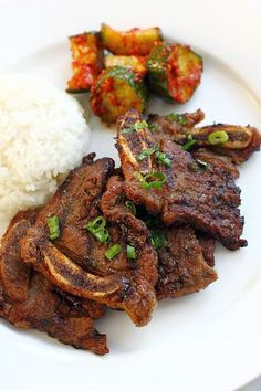 Korean BBQ Beef Short Ribs (Kalbi)