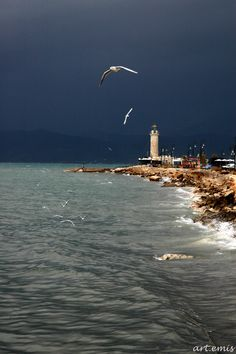 The Lighthouse in Patras, Greece