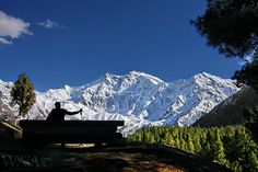 The Beauty of Nanga Parbat as seen from Fairy Meadows | Northern Pakistan.