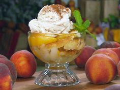 The Lady and Sons Peach Cobbler