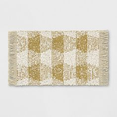 Geometric Area Rug Yellow – Threshold – Newest Rug Collections Small Mats, Washable Rugs, Striped Rug, Accent Rugs, Rug Material, Geometric Designs, Geometric Rug, White Area Rug, Rectangle Shape