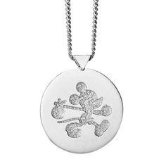 ba61c6b80869 Karen Walker Runaway Mickey Disc Necklace - Ballantynes