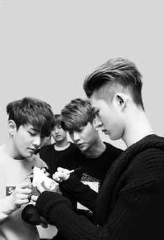 รูปภาพ Ikon, bobby, and chanwoo