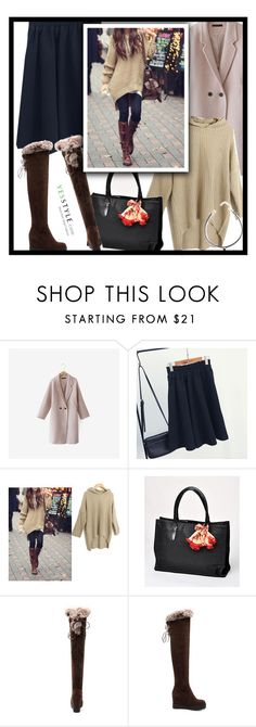 """""""YesStyle - 10% off coupon"""" by zehrica-kukic ❤ liked on Polyvore featuring Cherrykoko, Fashion Street, yeswalker, Fall and yesstyle"""