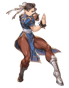 Street Fighter, Chun-li, by Minaba Hideo Street Fighter Ryu, Capcom Street Fighter, Video Game Characters, Female Characters, Female Character Design, Character Art, Expression Face, Street Fighter Characters, Art Anime