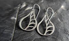 Vine Earrings by GioGioDesign on Etsy