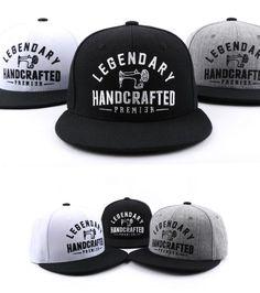 Snapback F/W season LEGENDARY handcrafted premier hat flat baseball cap #PREMIER #snapback