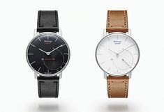 The Withings Activité Smart Watch blends the style and function of a classic timepiece with a contemporary health program. #watches #men #accessories