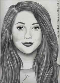 Zoe Sugg (Zoella) drawing. watch the tutorial : https://www.youtube.com/watch?v=_zFbXOdm4oM
