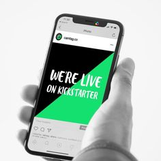 CamTag is now life on Kickstarter!  we are very excited to inform you that weve just launched our 2nd crowdfunding campaign on kickstarter  CamTag is now live!  take a look at our crowdfunding campaign via camtag.co and reserve one of the limited early bird offers.  #kickstarter #nowonkickstarter #liveonkickstarter #camtag #privacysticker #privacydecal #customsticker #protectyourprivacy #privacybydesign #cameratag #camerasticker  #coveryourcamera #cameradecal #reusablesticker #minimalsticker… Very Excited, Early Bird, Custom Stickers, Macbook, Campaign, Product Launch, Live, Phone, Instagram