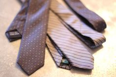 make a skinny tie from a wide tie