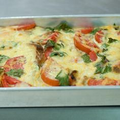 Savory Bread And Butter Pudding
