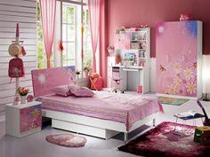 Dormitorios de niñas en color rosa - Dormitorios colores y estilos