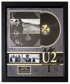 U2 - The Joshua Tree Band Signed Album