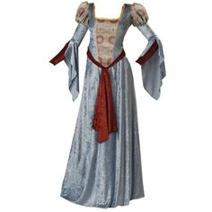 Medieval Dress found on Polyvore featuring women's fashion, dresses, medieval, costumes, gowns and fantasy