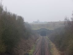 The Prince of Wales Tunnel looking towards Shildon, 21st January 2016