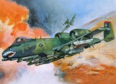 A-10A Thunderbolt II (Tamiya box art)