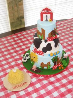 Farm Cake by Lemon Icing on Cake Central
