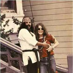 Janis Joplin couple
