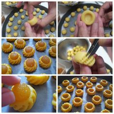 Shaping the dough