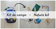 Paseos de naturaleza: Nuestro kit - Nature walks: Our kit • Montessori en Casa