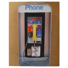 Telephone Booth / Public Payphone Puzzle #sold on #zazzle