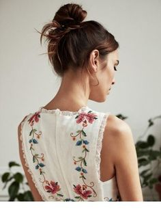 Cute floral dress back - Miladies.net