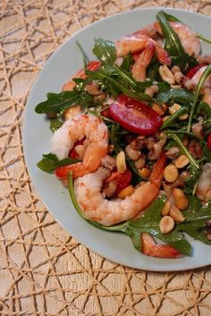 Fast and Easy: Celebrating the Coming of Spring; & the Making of a Southern Shrimp Salad | Lemon Grass and Green Tea | Bloglovin'