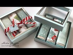 6th Day of Christmas | Chocolate Bar Gift Box With Window - YouTube